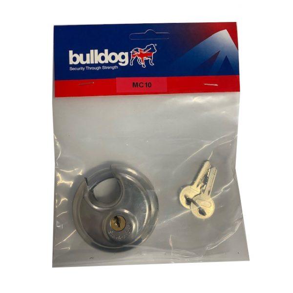 Bulldog MC10 Disc Padlock